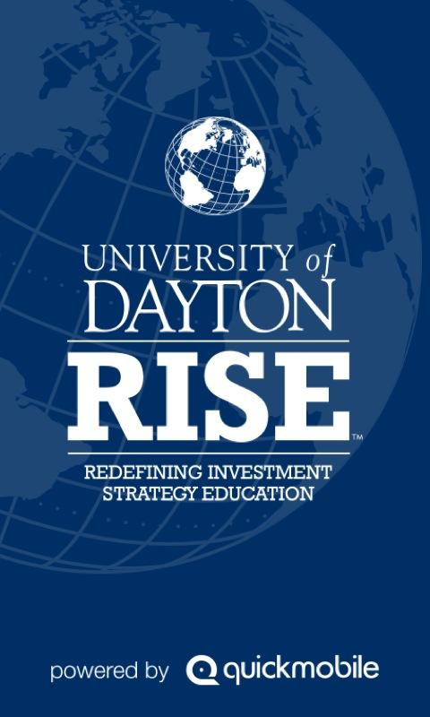 University of Dayton RISE - screenshot