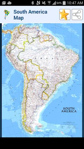 玩免費教育APP|下載南美洲地圖 app不用錢|硬是要APP