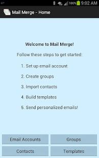 Mail Merge- screenshot thumbnail
