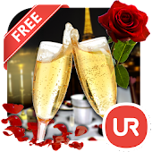 UR Romantic Date 3D Wallpaper
