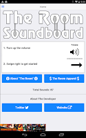 Screenshot of The Room Movie Soundboard