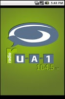 Screenshot of Radio UA1