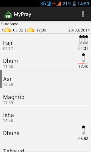 MyPray - Muslim Prayer Times
