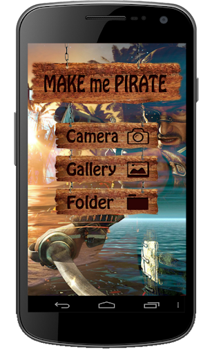 Make Me Pirate : Face Changer
