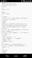 Screenshot of jQuery API