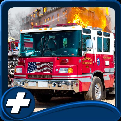 賽車遊戲App|田舎の消防3D駆動 LOGO-3C達人阿輝的APP