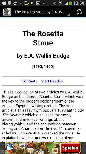 The Rosetta Stone ebook