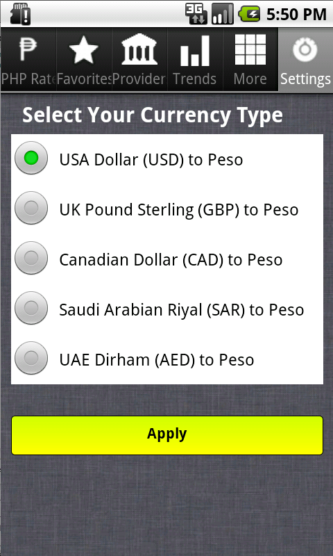 Forex aed to php