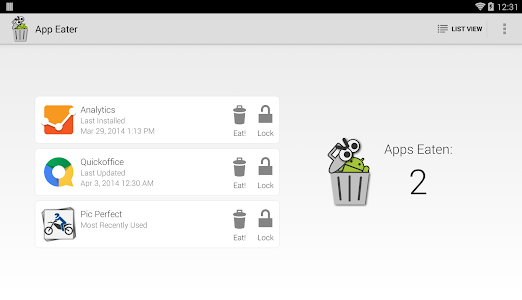 App Eater (Uninstaller) v1.1.1
