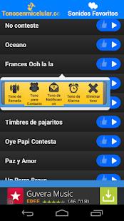 Tonos para Celular - screenshot thumbnail
