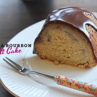 Banana Bourbon Bundt Cake #BundtBakers.