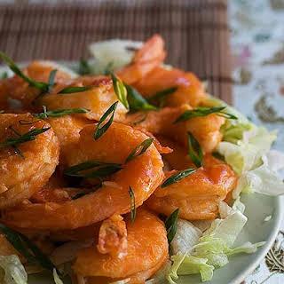 Happy Shrimp Stir Fry.