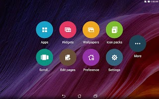 Screenshot of ASUS Launcher