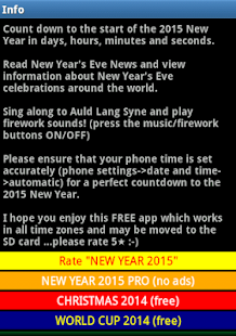 NEW YEAR 2015 - screenshot thumbnail