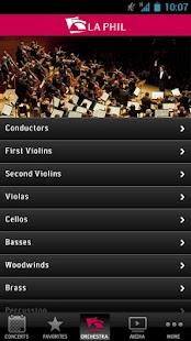 LA Phil - screenshot thumbnail