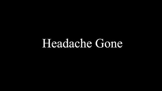 Headache Gone- screenshot thumbnail