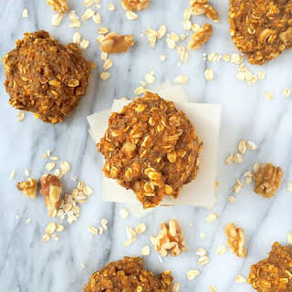 Pumpkin Oatmeal Breakfast Cookies {Gluten Free}.