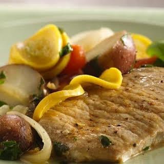 Slow-Cooker Pork Chops with Vegetable Medley.
