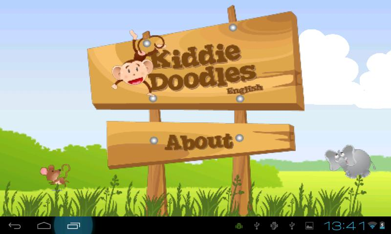 Kiddie Doodles English Free - Android Apps on Google Play
