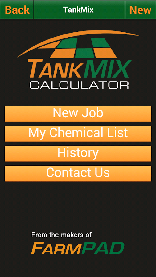 Tank Mix Calculator- screenshot
