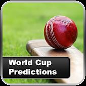 Predictions Cricket Cup 2015