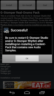 G-Stomper Real-Drums Pack - screenshot thumbnail