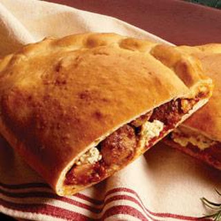 Party Size Sausage Calzone.
