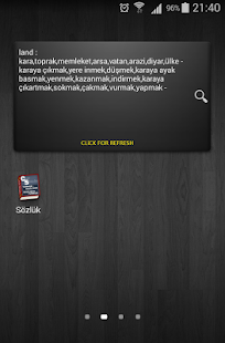 English - Turkish Dictionary- screenshot thumbnail
