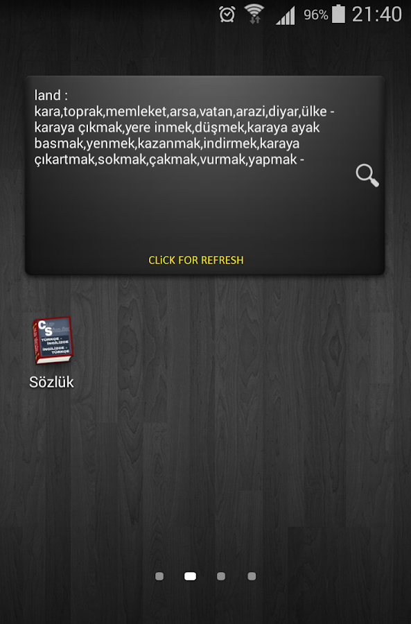 English - Turkish Dictionary- screenshot