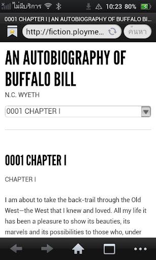 An Autobiography of Buffalo Bi