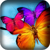Beaut Butterfly Live Wallpaper