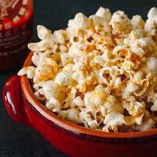 Spicy Sriracha Popcorn.