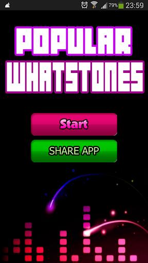 Whatstones热门手机铃声