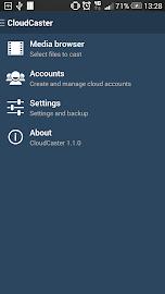 CloudCaster Screenshot 1