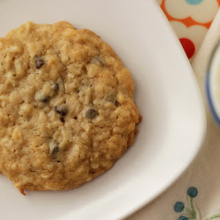 Chewy Coconut and Chocolate Chip Cookies.
