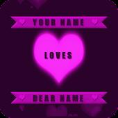 Valentine Name Live Wallpaper