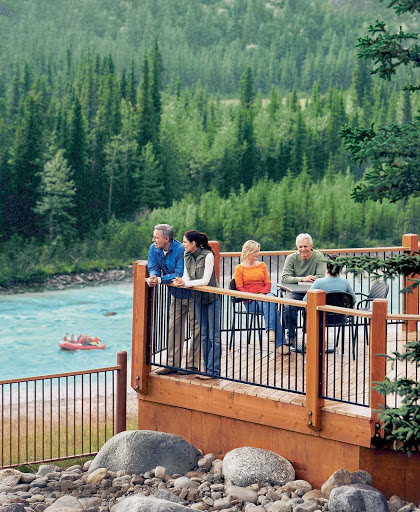 Denali-Princess-Wilderness-Lodge-Alaska-2 - Denali Princess Wilderness Lodge sits in the middle of  Denali Nature Park and Preserve in Alaska. Surrounded by forests and wildlife, it offers Princess Cruises guests a comfortable place to stay with phenomenal views of the surroundings. Book it as part of a pre- or post-cruise with Princess.