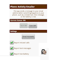Phone Activity Emailer logo