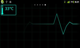 Screenshot of ECG Live Wallpaper