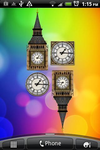 Big Ben Clock Widget Free - screenshot