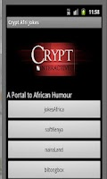 Screenshot of Crypt Afri Jokes