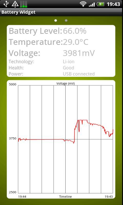 Battery Widget 30 days Trial- screenshot