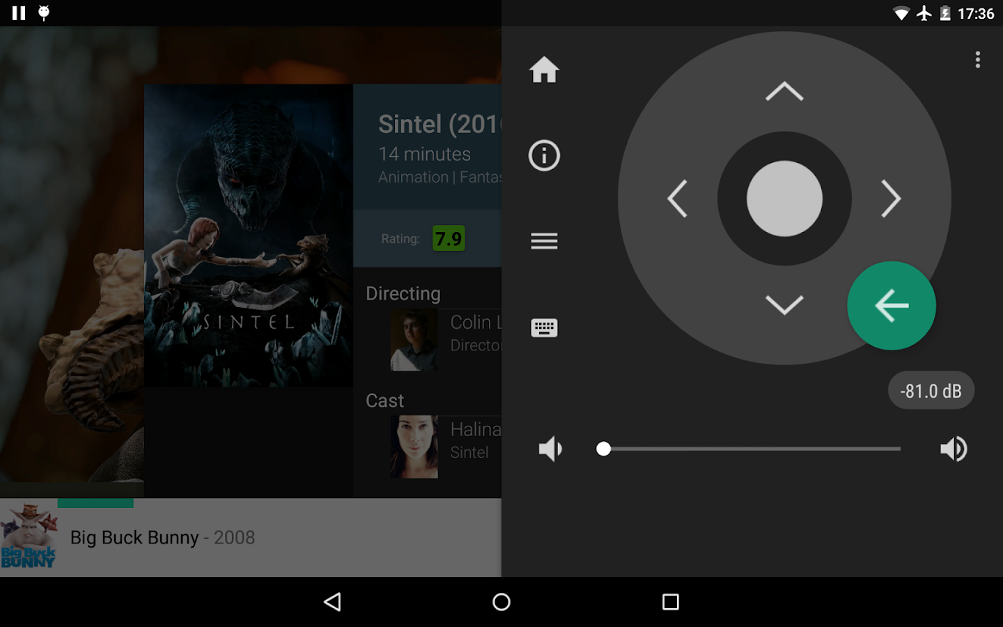 how to set movies up on kodi on android