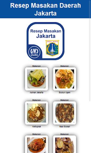 Resep Masakan Daerah Jakarta