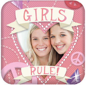 Girly Photo Frames Icon