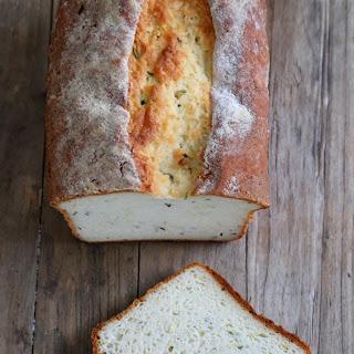 Gluten Free Zucchini Yeast Bread.