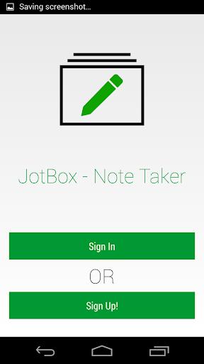 Jotbox - Note Taker