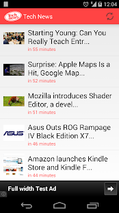 Tech news - screenshot thumbnail