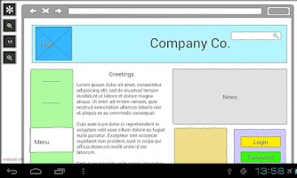 Screenshot of Mockups for Android