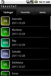 Travstat Android- screenshot thumbnail